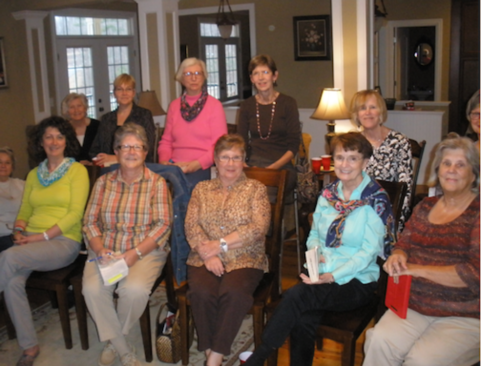 The ladies of Newnan, GA (thanks for reading A Lasting Impression)