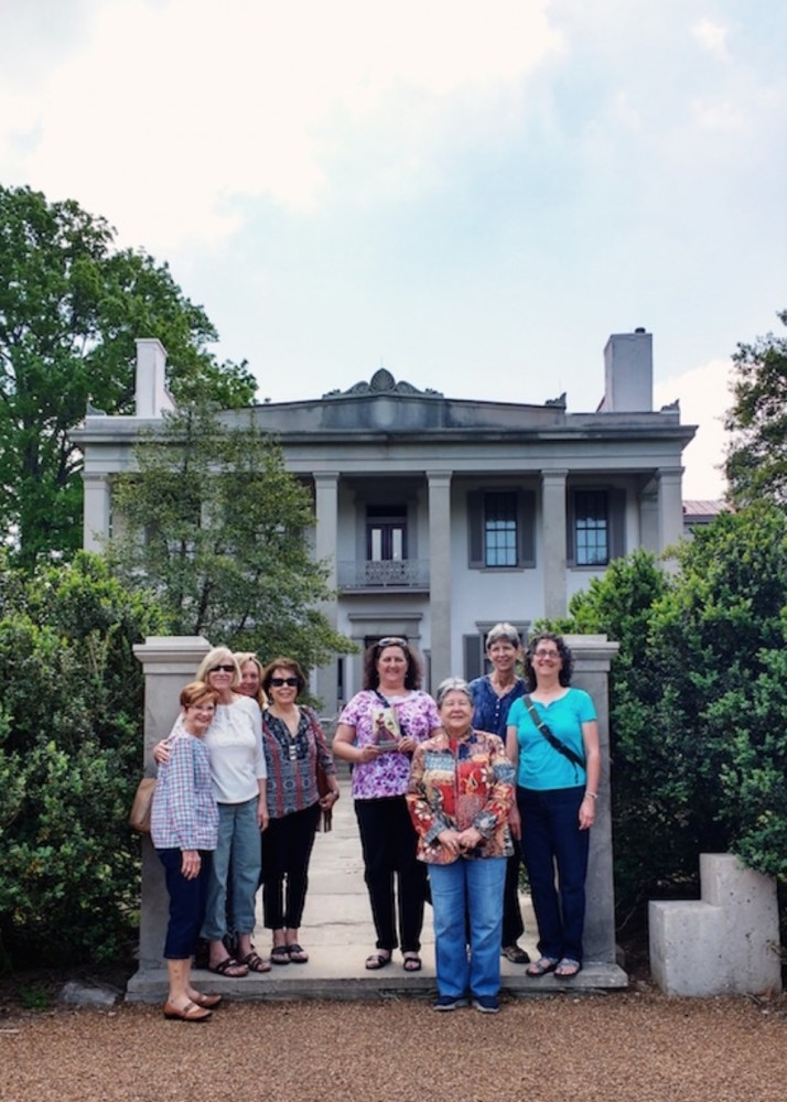Thanks Cleo Young, Gayle Swafford, Helen White, Janice Enlow, Judy Vires, Lynn Spake, Mickey Bailey, Sheryl Reagan for visiting Belle Meade Plantation—and for reading To Whisper Her Name
