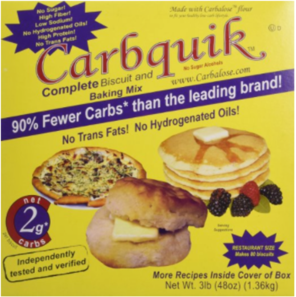 Makes the most delicious low-carb pancakes (Note: I only use 1/2 the butter the box recipe calls for)