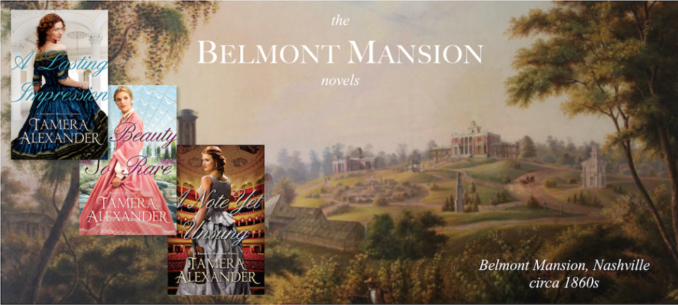 Click to see Belmont Mansion then . . . and now