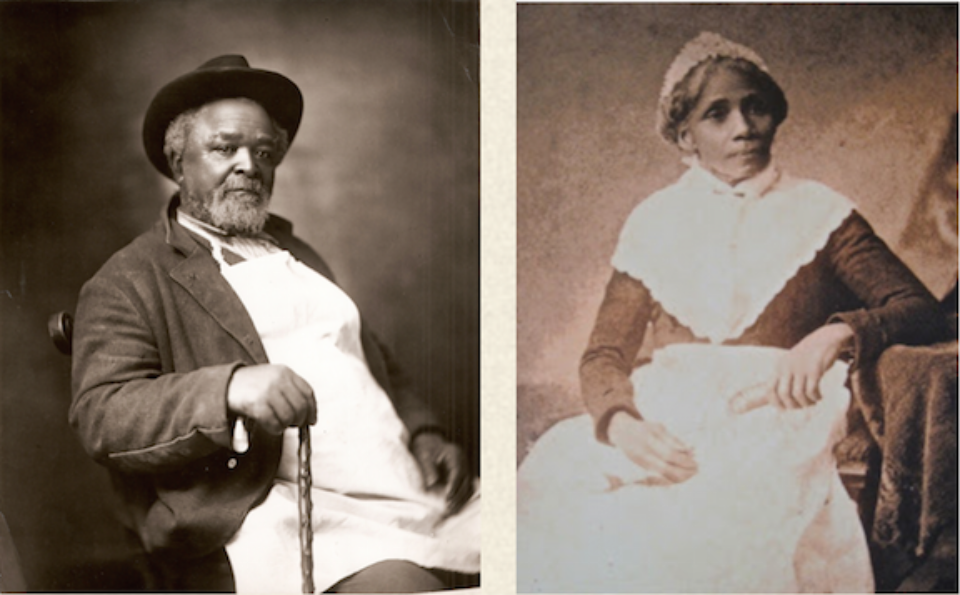 Robert Green (Uncle Bob) and Susanna Carter, African American slaves at Belle Meade