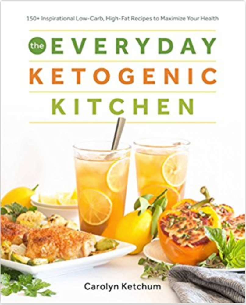 LOVE Carolyn Ketchum's recipes. One of the best Keto cookbooks ever! Great for the Keto rookie and also those who are more seasoned at this lifestyle.