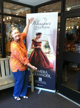 Sweet friend and author Stephanie Grace Whitson visiting Belle Meade Plantation