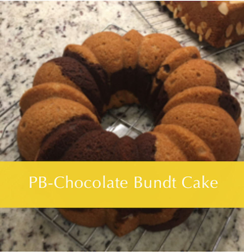 A beautiful bundt cake and very tasty