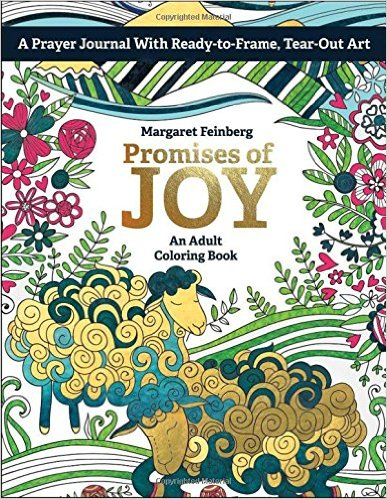Congrats, Kathy Smith (from Idaho)! You won Promises of Joy by Margaret Feinberg!