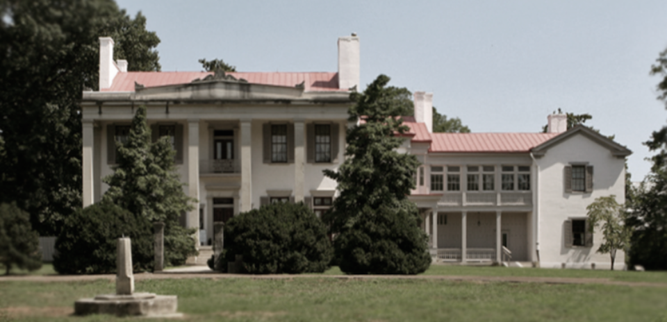 Current day Belle Meade Plantation, the setting of my Belle Meade Plantation novels