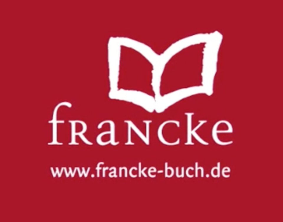 I'm so grateful to Francke for partnering with me to publish my novels to German readers!