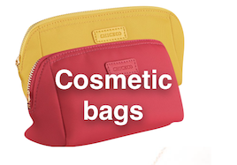 Congrats to Cassie and to Linda Hutchins who each won my favorite cosmetic bag