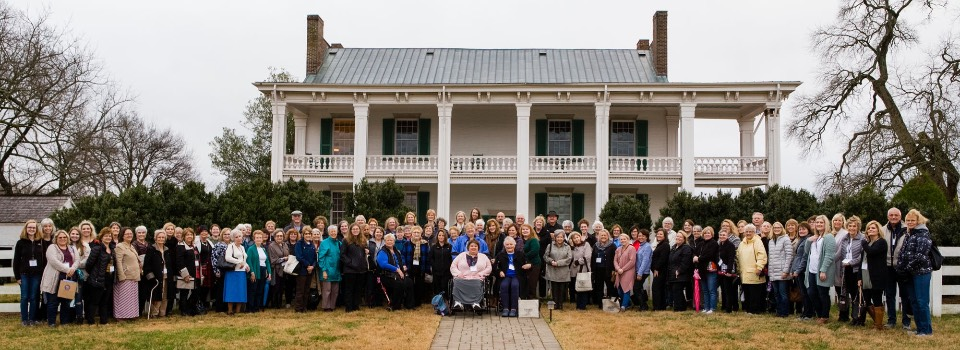 SMRW 2018 group picture at Carnton, Franklin, TN