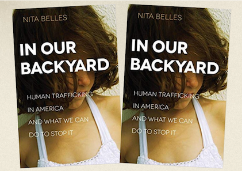 Congrats to Kayla Woodhouse and Jan Hall who each won copies of In Our Backyard. If you haven't heard of In Our Backyard before, please check out this organization that is committed to rescuing those shackled by human trafficking.