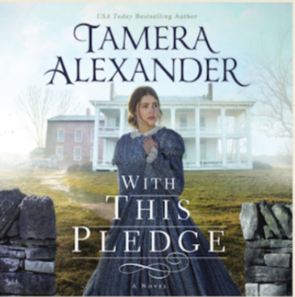 Congrats to Barbara Hamby who won With This Pledge, a Carnton novel audio book (CD) set.