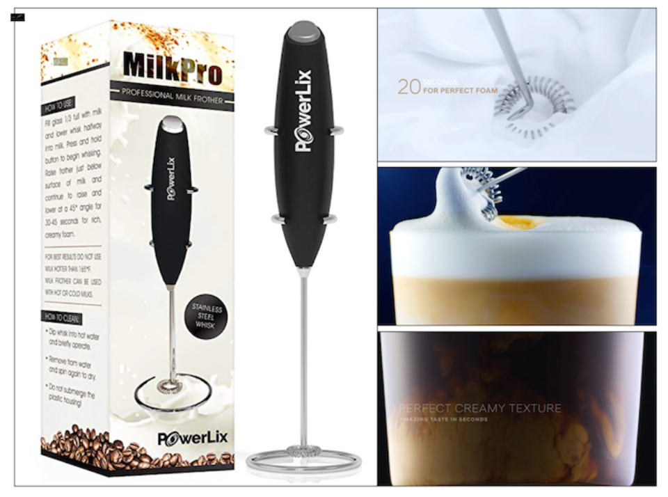 Congrats to Nina Rowan who won this fabulous little frother!