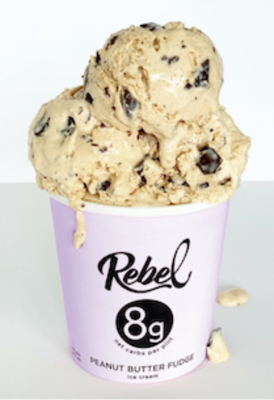 REBEL Ice Cream is hands down the best KETO ice cream on the market. Personally, I love Mint Chip & Coffee Chip. Oh, oh, oh...so good!