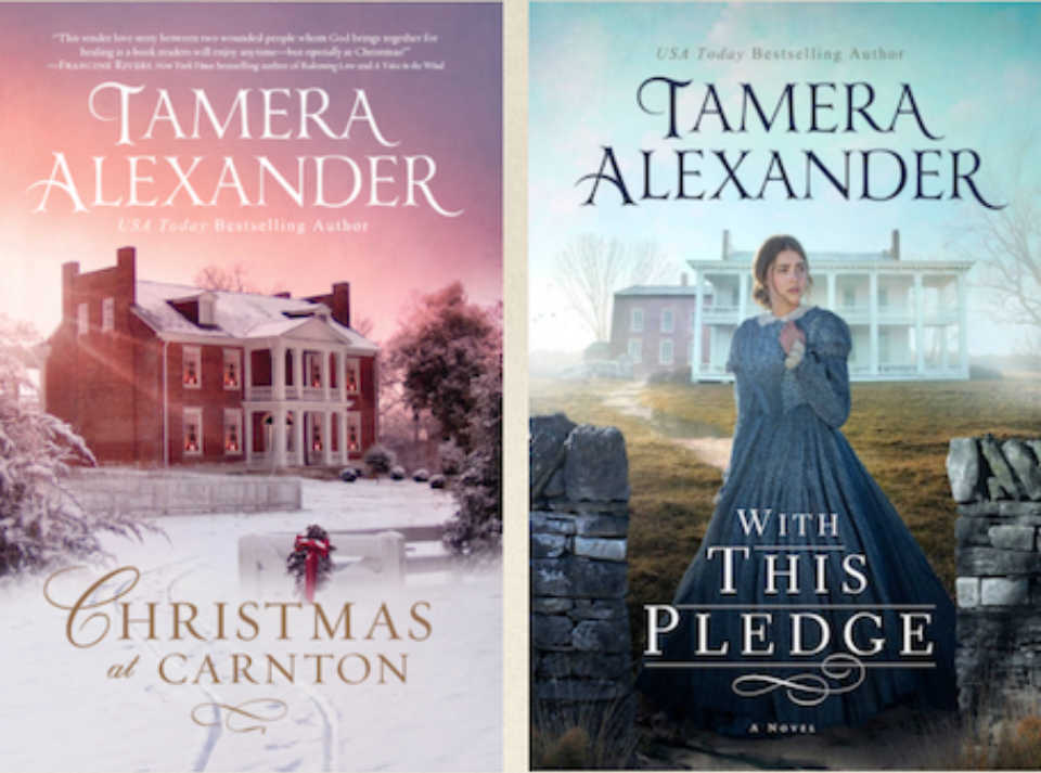 Christmas at Carnton, the novella that launched the series | With This Pledge, Carnton book 1
