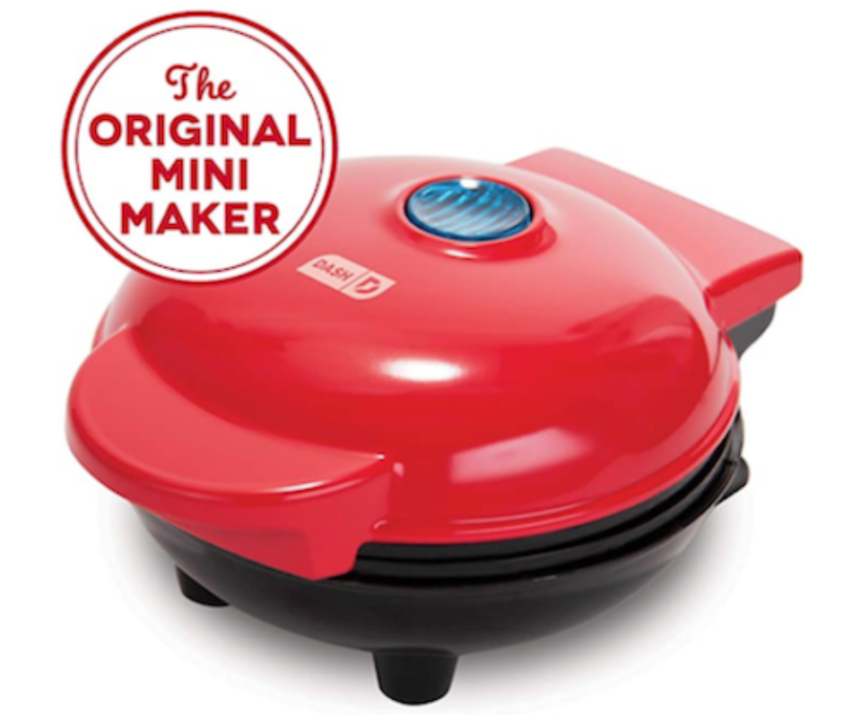 Congrats to Melissa Andres who won this cute little waffle maker!